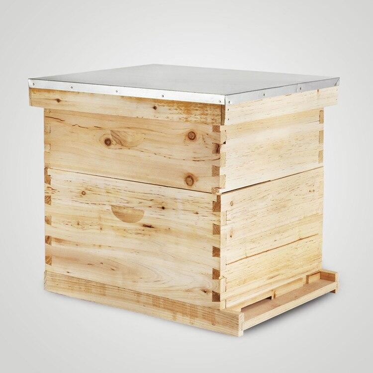 20 Frame Box Beehive Kit (10 Deep-10 Medium) Langstroth Beekeeping Brand New