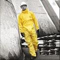2300 impermeables álcali resistente a los ácidos de aceite pintura de la pulverización de pesticidas pulido limpia ropa protectora pintada de laboratorio clothing
