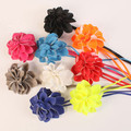 Sweet big flower rope belly chain all-match women's belt bow decoration strap