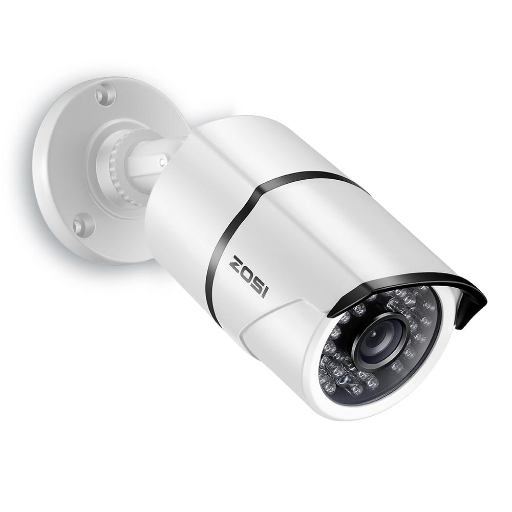 ZOSI 1/3 CMOS 2.0MP 1080P HD-TVI CCTV Home Surveillance Weatherproof 3.6mm lens with IR Cut Bullet Security Camera