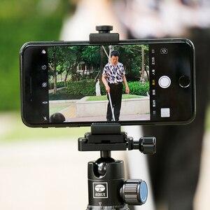 Image 5 - Ulanzi ST 01 dikey çekim telefon Tripod montaj standı adaptörü Vlog için Tripod dağı iPhone 12 Pro Max Samsung Huawei Xiaomi