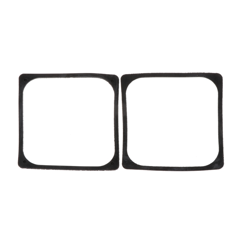 2Pcs PC Case Fan Anti Vibration Gasket Silicone Shock Absorption Pad Water Cool