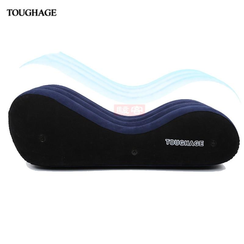 Toughage секс Мебель для пары Портативный надувные Роскошные Подушки Детские сексуального позиция подушки секс кровать Полезная Секс диван pad