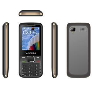 """Image 5 - 2G GSM 2.4 """"Double Sim MP3/MP4 Lecteur Vidéo GPRS Bluetooth 1200 mAh Clavier bouton Débloqué Mobile téléphone Portable débloqué Pas Cher Téléphone"""