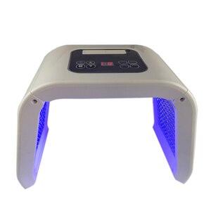Image 4 - Портативный светодиодный светильник терапия светодиодный Омоложение кожи устройство 7 CLor красный синий желтый зеленый светодиодный светильник