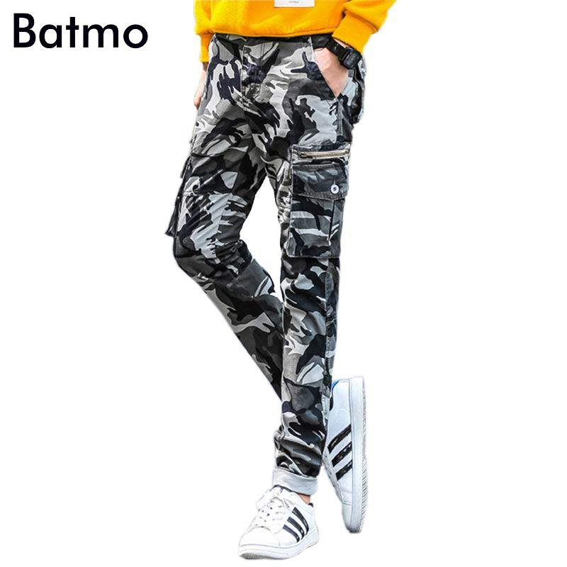 2017 new arrival 100% cotton skinny Camouflage cargo pants men ,casual Camouflage men's pants .