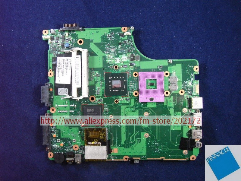 V000126610  Motherboard for Toshiba Satellite A300 nokotion sps v000198120 for toshiba satellite a500 a505 motherboard intel gm45 ddr2 6050a2323101 mb a01