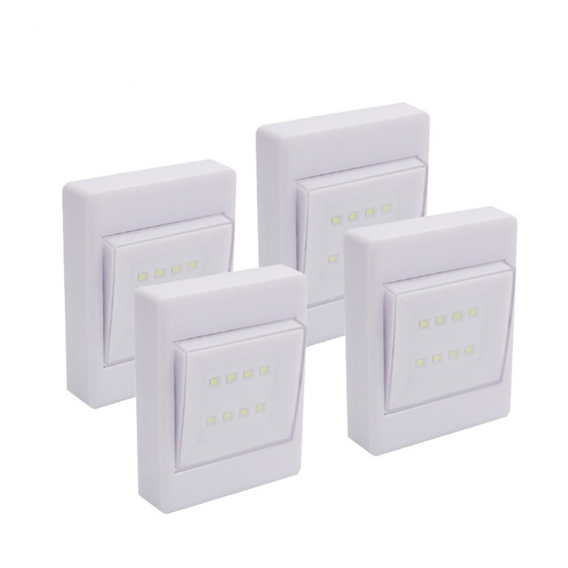 24 pack cob led wall switch wireless closet cordless night light 24 pack cob led wall switch wireless closet cordless night light battery operated nightlight mozeypictures Choice Image