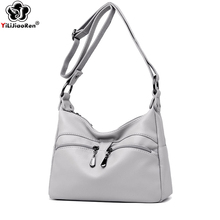 Fashion Double Zipper Crossbody Bags for Women Brand Leather Shoulder Bag Female Designer Luxury Lady Handbag Sac A Main Clutch double clutch a brenna blixen novel