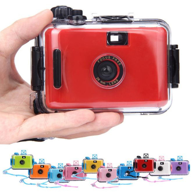 2016 high quality Mini Underwater Waterproof Mini 35mm Film Camera Purple