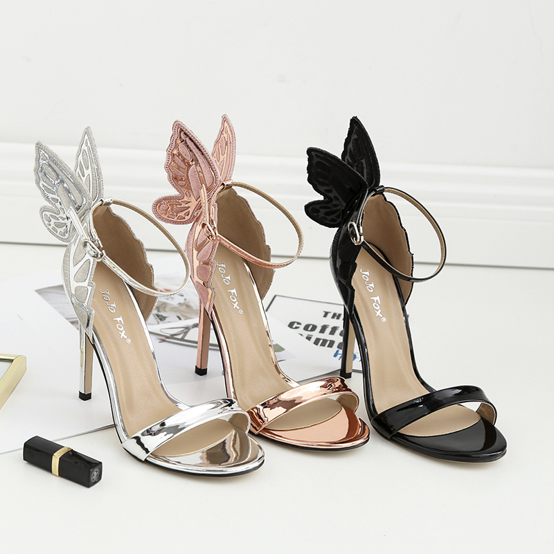 GUMANDUO New women sexy high heels Patent Leather Bowtie stiletto Concise sandals ladies celebrity pumps shoes woman US5-9 new 2017 sexy point toe patent leahter high heels pumps shoes sandals pr1987 woman s red sandals heels shoes wedding shoes