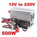 500 W Car Inverter Convertidor Portátil DC 12 V a AC 220 V Adaptador Super Power Inverter Convertidor Del Cargador para Camión del Barco del coche