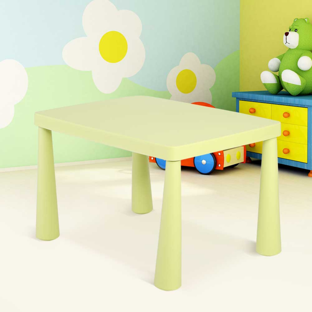 Kids Children Portable Plastic Table Learn Play Activity School Home Furniture multifunction chairs for children