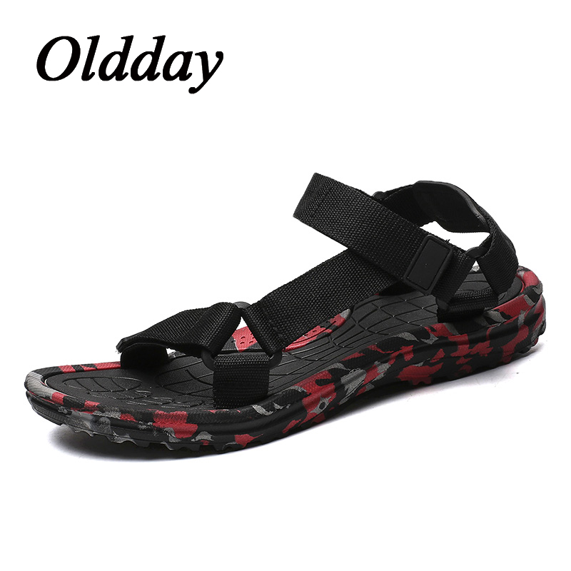 Summer Men Sandals Comfortable Man Shoes Fashion Sandalia Masculina Breathable Man Flat Outdoor Sneakers Plus Size