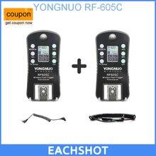 YONGNUO RF-605 RF605C rf 605C RF605 c Беспроводная вспышка триггера для Canon Обновление версии RF-603II