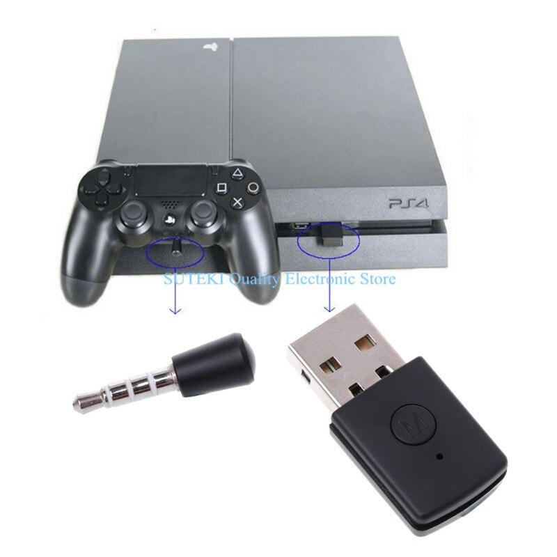 Usb <font><b>bluetooth</b></font> dongle Беспроводной наушники адаптер микрофон для <font><b>PS4</b></font> консоли контроллера высокое качество