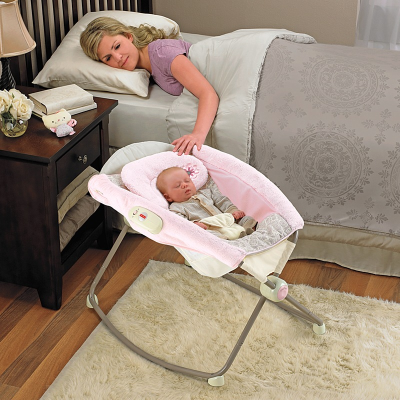 Metal Baby Crib Rocking Bed Baby Cradle Cot Foldable Portable Infant bassinet yarn electric swing cotton pink Breathable pillow цена