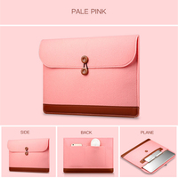 Leather Protective Bag Cases For IPad Air Pro 11 12 13 Inch Business Pocket Sleeve Felt Computer Package Soft TPU Cases