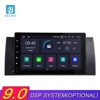 Besina 9 дюймов Android 9,0 автомобиль радио для BMW E53 X5 E39 gps навигации Wifi мультимедийный проигрыватель Bluetooth Autoaudio стерео один Din