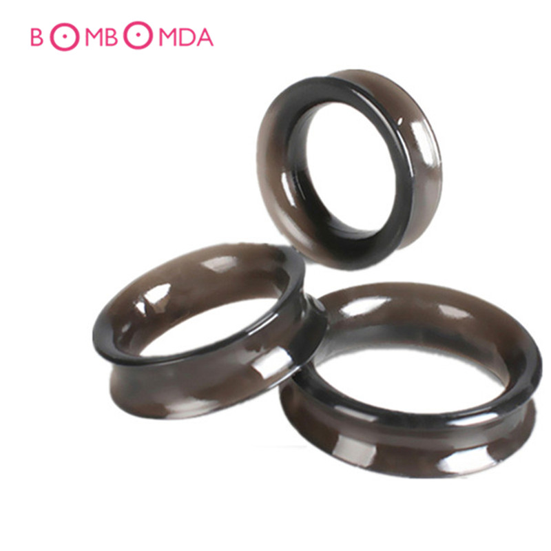 3PCS/Set Smooth Touch Silicone Time Delay Penis Rings Cock Rings Male Adult Sex Toys Sex Products For Men, Erotic Toy for Couple rhinestone detail layered rings set 3pcs