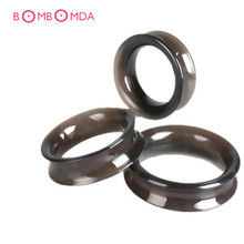 3PCS Set Smooth Touch Silicone Time Delay Penis Rings Cock Rings Male Adult Sex Toys Sex