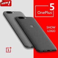 Oneplus 5 Case Original Matte Soft Back Cover Oneplus5 Cover Black Capa Coque Fundas One Plus