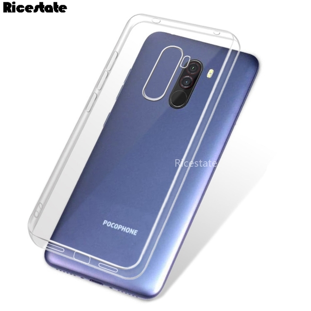 online store 92fe8 684d3 US $0.89 10% OFF|Pocophone F1 Ultra Thin Slim Clear Soft Protective TPU  Case Xiaomi Pocophone F1 Poco phone F1 Silicone Back Phone Cover Poco F1-in  ...