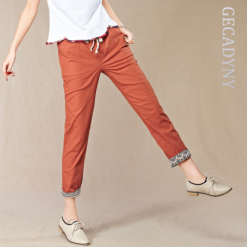 Simple Pull-On Pants (For Women) 9081T - Save 74%