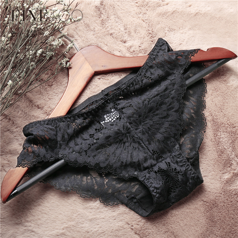 Panties   For Women 1Pc Low Rise Lace Floral Underwear Sexy Female Lingerie Comfort Ladies Solid Briefs Girls Black   Panty   5 Colors