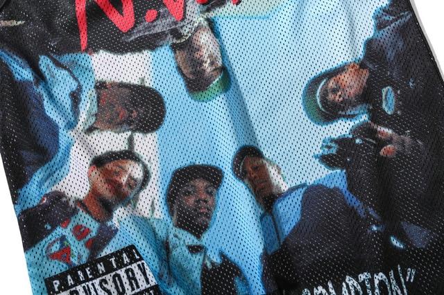 Summer tops men clothing 2018 Tank Tops Black Breathable mesh Sleeveless fitness vest Body building Hip-hop 3