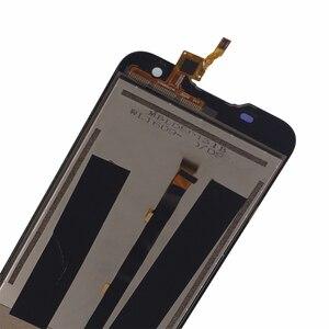 Image 2 - Original Para Blackview BV5000 componente LCD screen Display Toque digitador Assembléia Para Blackview BV5000 substituição de Peças de Telefone