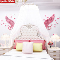 Large Cartoon angel wings pattern 3d wall stickers kindergarten kids room wedding room sofa background acrylic wall stickers