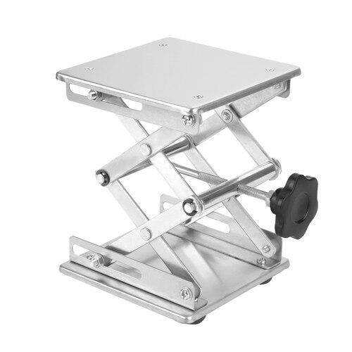Профессиональный лабораторный домкрат, подъемная платформа, подставка для ножниц, 150*150*250 мм, 100 мм* 100 мм* 160 мм, Подъемные Инструменты - Цвет: 150x150x250 Silver