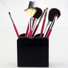 Black Counter Acrylic Pen Box Cosmetic Brush Holder Jewelry Storage Box