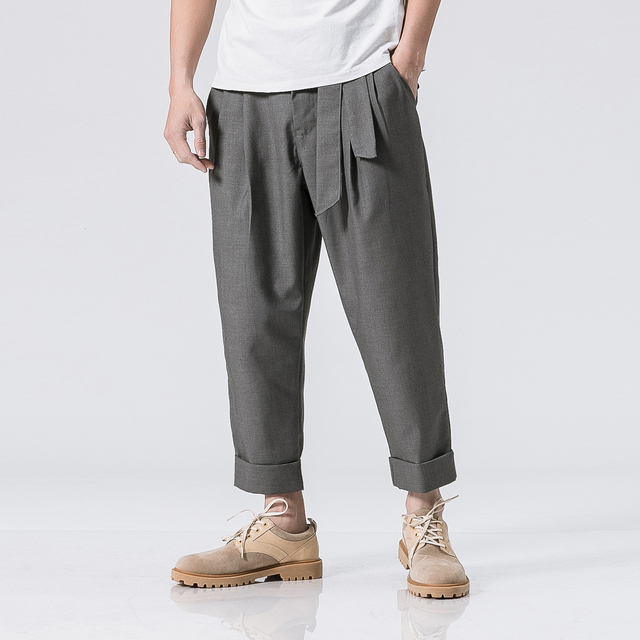 TROUSERS - Casual trousers _M Gray r0A2b0u7d