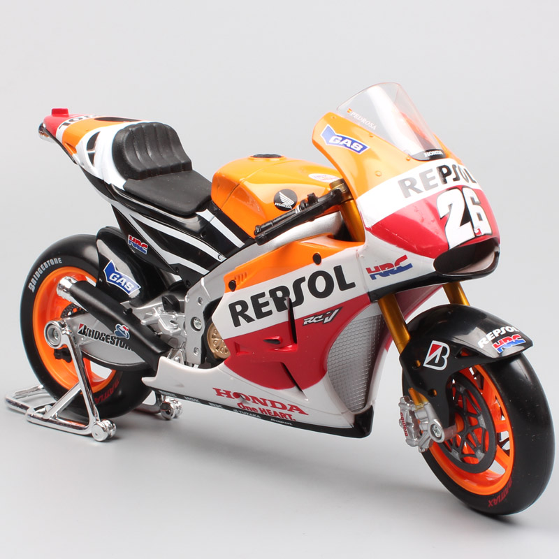 1:10 scale big MotoGP Honda Repsol RC213V 2014 No.26 Marc Marquez Motorcycle Motocross enduro Diecast sport racing model toy boy