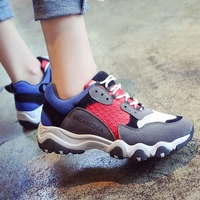 New Spring Summer 2016 Women Casual Shoes Breathable Walking Shoes Heighten Shoes Tenis Trainers
