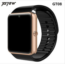 RsFow GT08 Smart Watch For Apple Watch Men Women Android Wristwatch Smart Electronics Smartwatch With Camera SIM TF Card PK Y1(China)