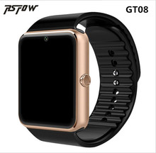 RsFow GT08 Smart Watch For Apple Watch Men Women Android Wristwatch Smart Electronics Smartwatch With Camera SIM TF Card PK Y1