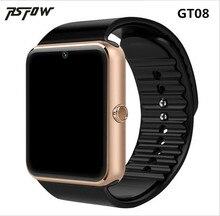 RsFow GT08 Смарт часы для Apple Watch Для мужчин Для женщин Android наручные часы Smart Electronics Smartwatch С Камера sim-карта TF PK y1