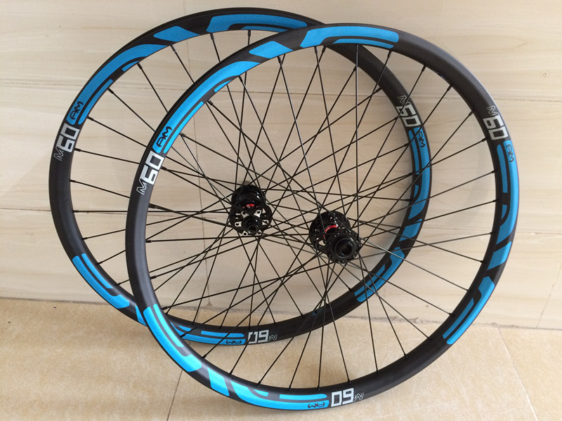New arrival MTB wheelset 29er 30mm Hookless 27.5er carbon mtb wheels Tubeless 32-32h 29