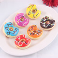 30Pieces 5cm Kawaii Donuts Squishy Phone Straps Donut Cream Toy Decoration Toys Squishies Wholesale