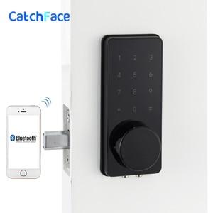 Image 1 - Wifi Elektronische Türschloss, Smart Bluetooth Digitale APP Tastatur Code Tastatur Türschloss, passwort Keyless Tür Safe Lock Elektronische