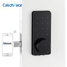Wifi elektronik dış kapı kilidi, Akıllı Bluetooth Dijital UYGULAMA Tuş Takımı Kodu Tuş Takımı Kapı Kilidi, Şifre Anahtarsız Kapı Güvenli Kilit Elektronik