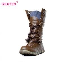 ผู้หญิงแบนครึ่งรองเท้าสั้นbotasฤดูหนาวแฟชั่นสายคล้องข้ามรอบโบฮีเมียบูตอบอุ่นเท้ารองเท้าP19357ขนาด34-43