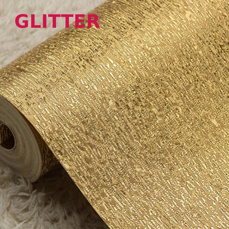 Wallpapers For Living Room Glitter Wallpaper Silver And Gold Foil Wallpaper Roll Paper 3d Vertical Stripes Wallpaper Damask цена
