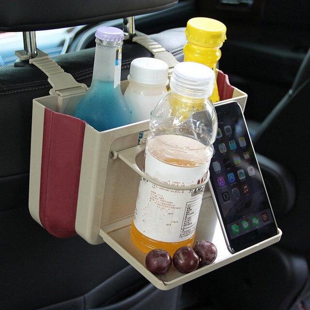 Schwarz/Beige Faltbare Multifunktionale Autositz Zurück Schreibtisch ...