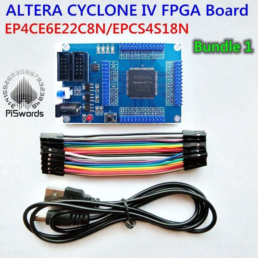FPGA ALTERA development core board kit CYCLONE IV EP4CE EP4CE6E22C8N board  Blaster usb jtag Sample code SCH