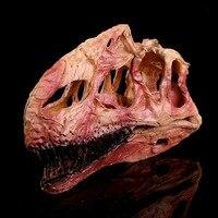 Simulatie Hars Ambachten Home Decoraties Accessoires Interieur Woninginrichting Monolophosaurus Dinosaurus Schedel Studie Model