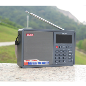 Image 5 - Tecsun ICR 110 Radio FM/AM MP3 Player Elderly Recorder Digital audio Portable Semiconductor Sound Box Support TF Card Free Ship